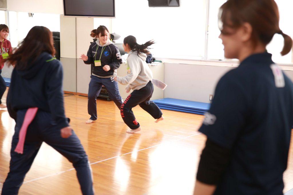 第1回女子ラクロストレーニングキャンプの様子5