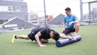 パーソナルトレーニング指導の風景