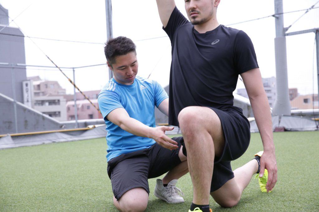 トレーニング指導の流れ