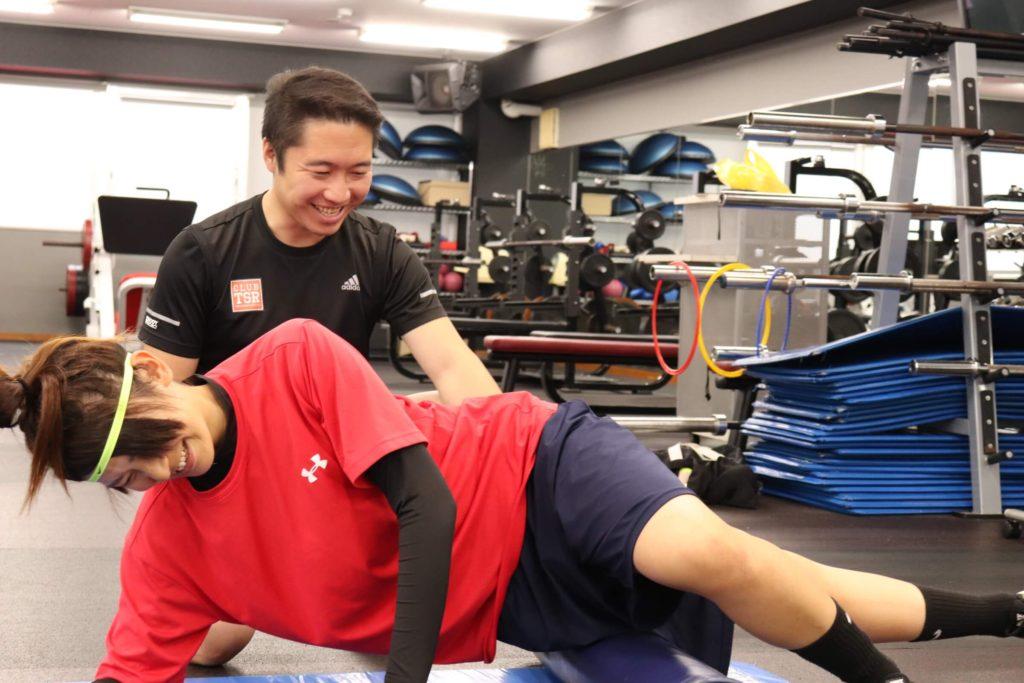女子ラクロス選手へのトレーニング指導